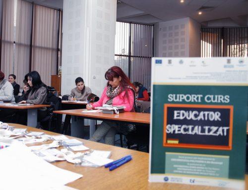 50 de femei vor deveni Educatori Specializati