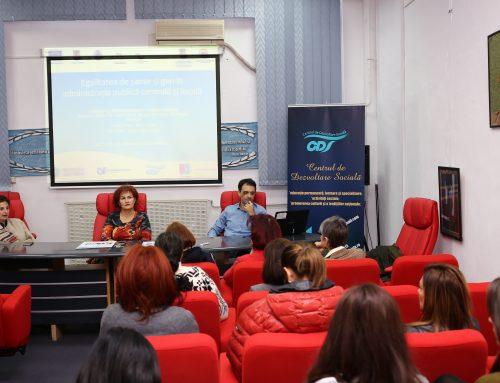 CDS a organizat o dezbatere pe tema egalității de șanse în administrație publică locală și centrală
