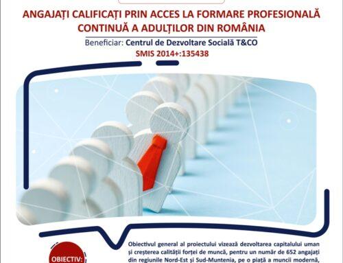 COMUNICAT DE PRESĂ A fost lansat proiectul ACAFAR! 652 de angajați se vor recalifica pe piața muncii!